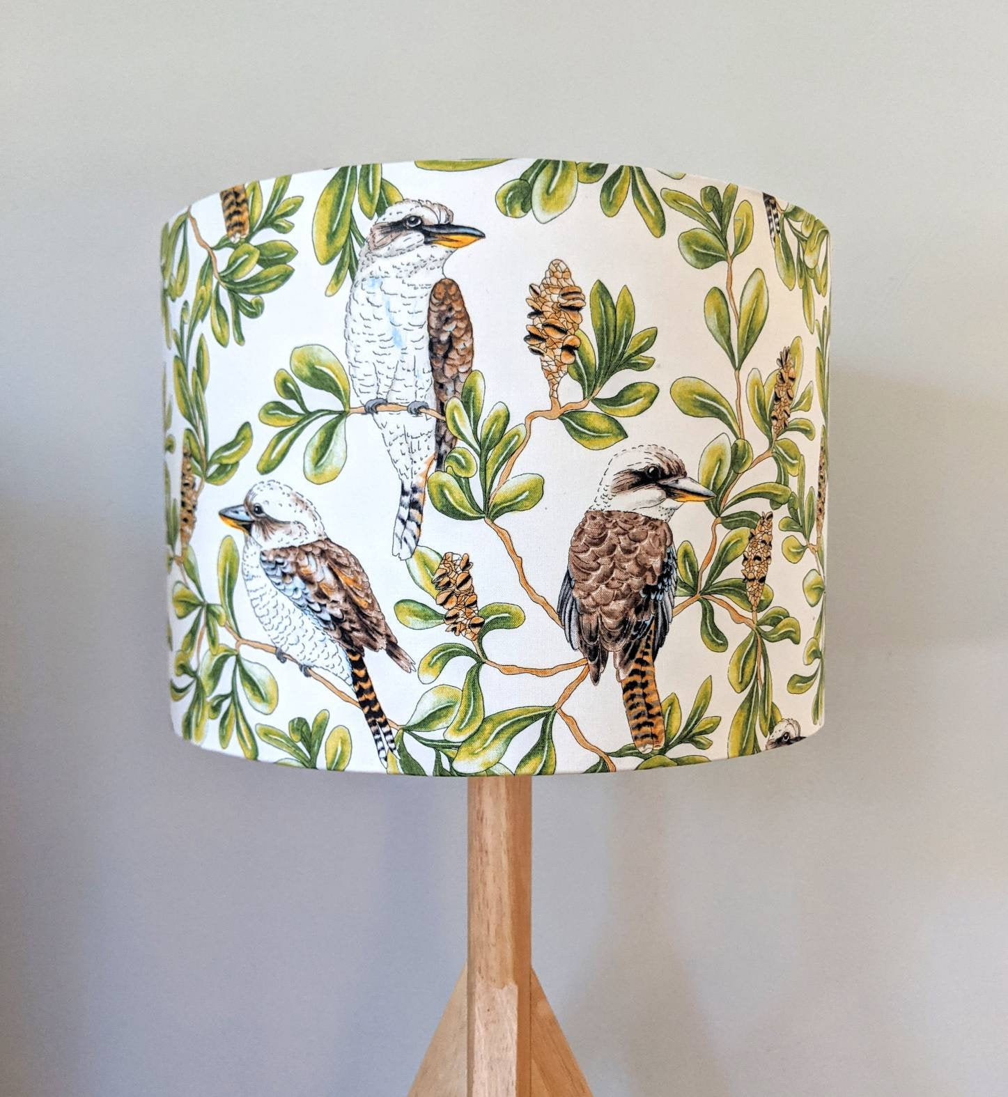 Kookaburras Lampshade Hello Boho Handcrafted Lampshades Homewares Home Decor