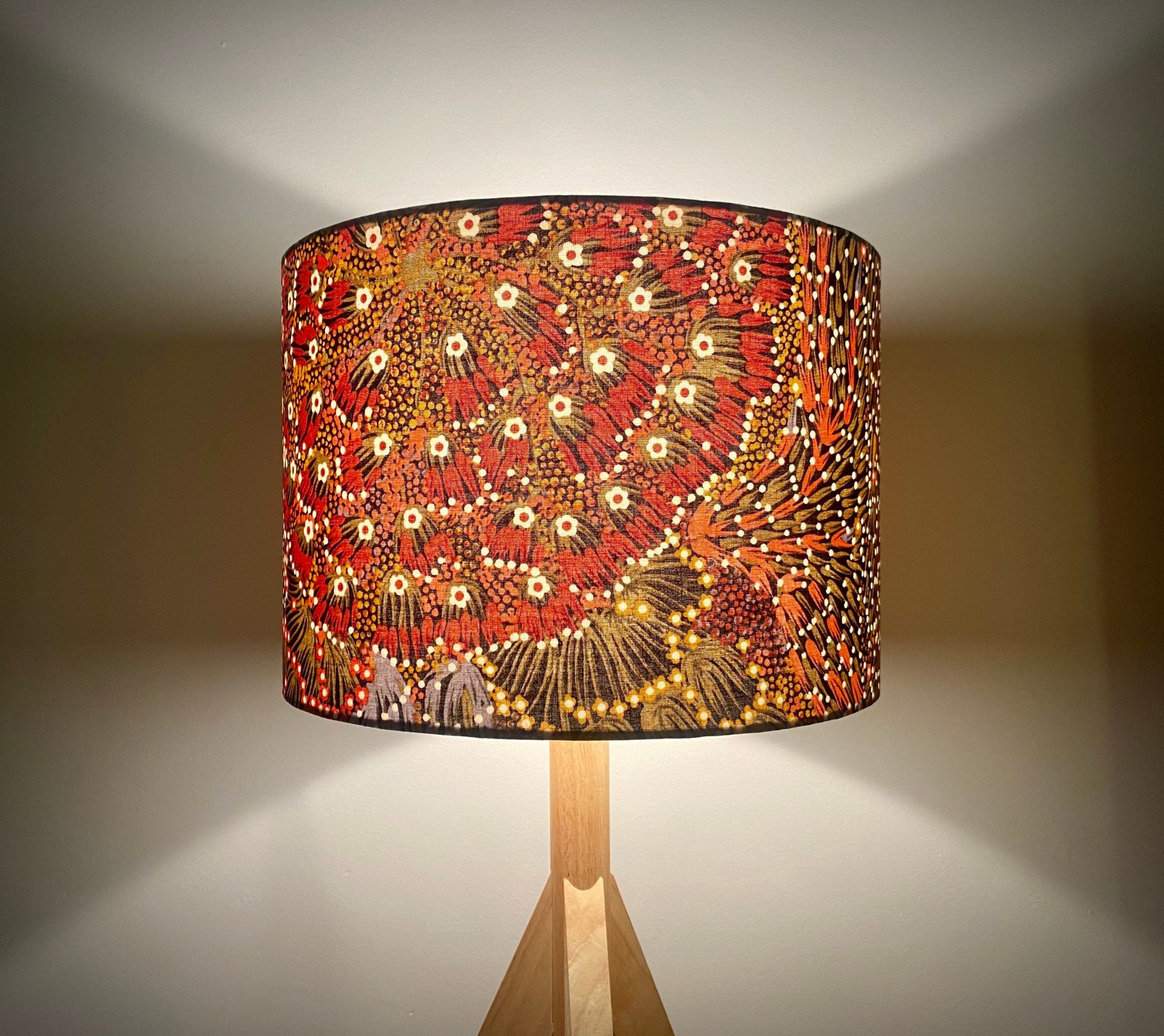 Bush Banana Aboriginal Lampshade Hello Boho Handcrafted Lampshades Homewares Home Decor